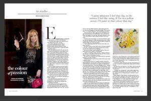 Boulevard Magazine - April é May 2021 Elizabeth Cross interview